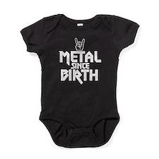 Metal Since Birth Baby Bodysuit