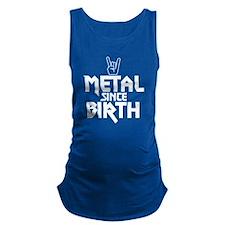 Metal Since Birth Maternity Tank Top