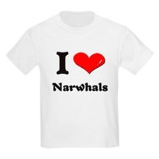 I love narwhals T-Shirt