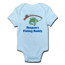 Peepaws Fishing Buddy Body Suit
