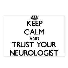 Keep Calm and Trust Your Neurologist Postcards (Pa