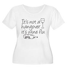 Wine Flu Plus Size T-Shirt
