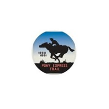 The Pony Express Mini Button (10 pack)