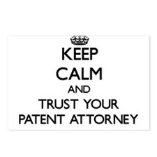Keep Calm and Trust Your Patent Attorney Postcards