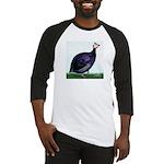 Royal Purple Guineafowl Baseball Jersey