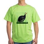 Royal Purple Guineafowl Green T-Shirt