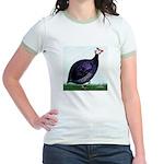 Royal Purple Guineafowl Jr. Ringer T-Shirt