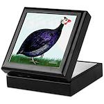 Royal Purple Guineafowl Keepsake Box