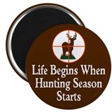 Hunting Season Magnet