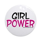 Girl Power Ornament (Round)