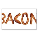 Bacon in the Shade of Bacon Sticker