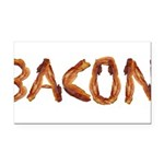 Bacon in the Shade of Bacon Rectangle Car Magnet