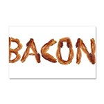 Bacon in the Shade of Bacon Car Magnet 20 x 12