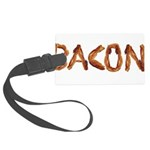 Bacon in the Shade of Bacon Luggage Tag