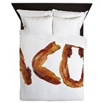 Bacon in the Shade of Bacon Queen Duvet