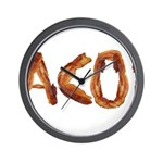 Bacon in the Shade of Bacon Wall Clock