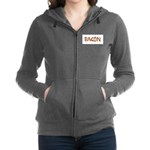 Bacon in the Shade of Bacon Women's Zip Hoodie