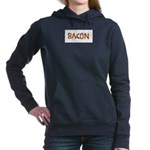 Bacon in the Shade of Bacon Women's Hooded Sweatsh