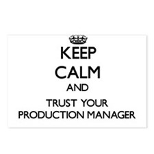 Keep Calm and Trust Your Production Manager Postca