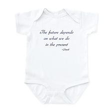 Ghandi quote Infant Bodysuit