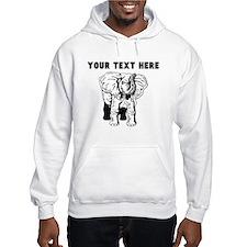 Custom African Elephant Hoodie
