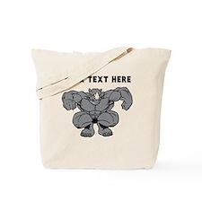 Custom Rhino Mascot Stomp Tote Bag