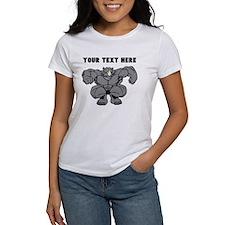 Custom Rhino Mascot Stomp T-Shirt