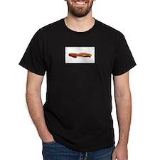 Bacon Strip Horizontal T-Shirt
