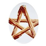 Bacon Star Ornament (Oval)