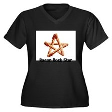 Bacon Rock Star Plus Size T-Shirt