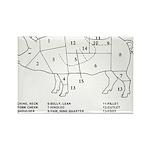 Pig Parts Magnets