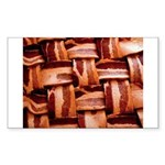 Bacon weave Sticker