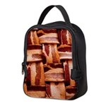 Bacon weave Neoprene Lunch Bag
