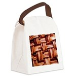 Bacon weave Canvas Lunch Bag