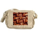 Bacon weave Messenger Bag
