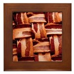 Bacon weave Framed Tile