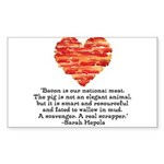 Sarah Hepola Quote about Bacon Sticker