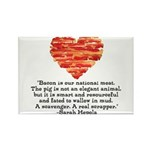 Sarah Hepola Quote about Bacon Magnets