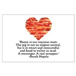 Sarah Hepola Quote about Bacon Posters