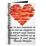 Sarah Hepola Quote about Bacon Journal