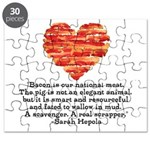 Sarah Hepola Quote about Bacon Puzzle