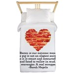 Sarah Hepola Quote about Bacon Twin Duvet
