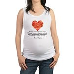 Sarah Hepola Quote about Bacon Maternity Tank Top