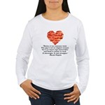 Sarah Hepola Quote about Bacon Long Sleeve T-Shirt