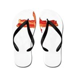 Bacon Cross Flip Flops