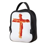 Bacon Cross Neoprene Lunch Bag