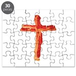 Bacon Cross Puzzle