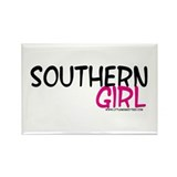 Southern Girl Rectangle Magnet (10 pack)