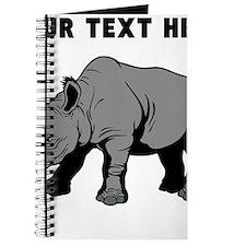 Custom Baby Rhino Journal