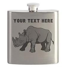 Custom Baby Rhino Flask